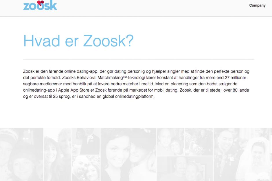 zoosk app knull kontakt